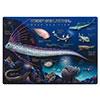 下敷きA4 アニマルガイドシート 深海魚