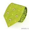 ネクタイ ミツバチ ライトグリーン