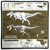 サイエンスバンダナ ティラノサウルス カーキ