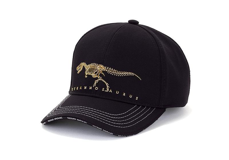 スポーツキャップ ティラノサウルス ボーンズ ブラック
