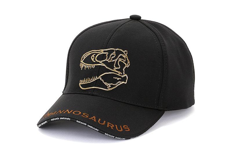 スポーツキャップ ティラノサウルス スカル ブラック
