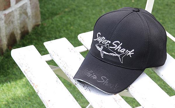 スポーツキャップ ホホジロザメ ブラック