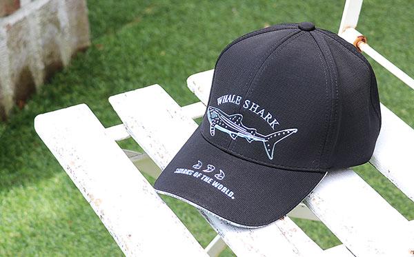 スポーツキャップ ジンベエザメ ブラック