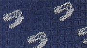 生物・動物・恐竜・アニマル柄ネクタイ ティラノサウルス スカル 小紋 モチーフ