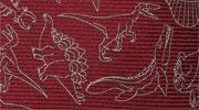 生物・動物・恐竜・アニマル柄ネクタイ 古代生物 24 モチーフ