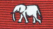 生物・動物・アニマル柄ネクタイ アフリカゾウ モチーフ