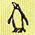 生物・動物・アニマル柄ネクタイ キングペンギン ドット イエロー