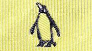 生物・動物・アニマル柄ネクタイ キングペンギン モチーフ
