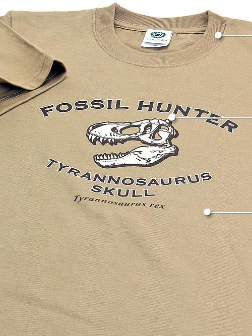 ミュージアム デザイン Tシャツ 子供サイズ 素材