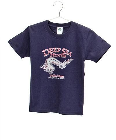 ミュージアムデザイン Tシャツ ラブカ ダークネイビー 130サイズ