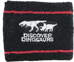 リストバンド ティラノサウルス&トリケラトプス ブラック