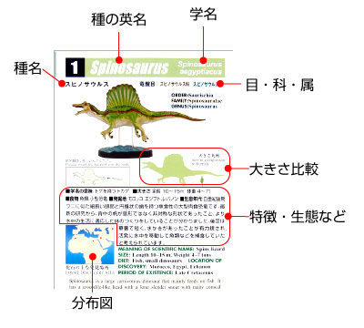 立体図鑑 ディノボックスVOL.2 解説書