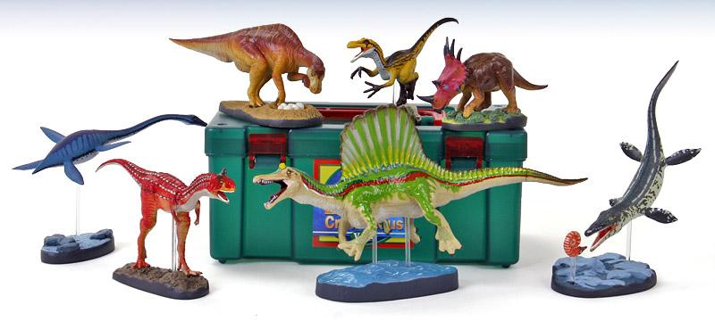 立体図鑑ディノボックス Vol.2(スピノサウルスフィギュアをはじめ白亜紀に棲息した恐竜)