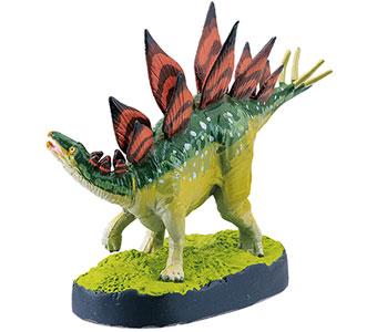 立体図鑑ディノボックスVol.3 ステゴサウルス フィギュア
