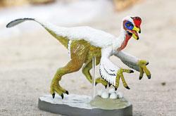立体図鑑  羽毛恐竜プレミアムボックス オヴィラプトル
