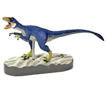 立体図鑑羽毛恐竜プレミアムボックス ディロング フィギュア
