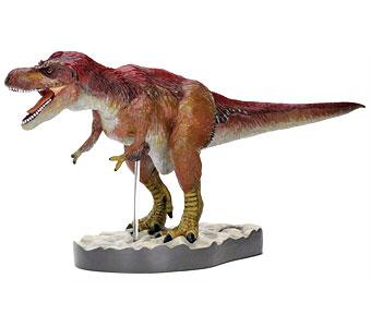 立体図鑑羽毛恐竜プレミアムボックス ティラノサウルス フィギュア