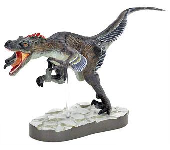 立体図鑑羽毛恐竜プレミアムボックス デイノニクス フィギュア