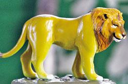 立体図鑑 ワイルドキャットボックス インドライオン
