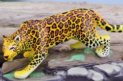 立体図鑑 ワイルドキャットボックス ジャガー