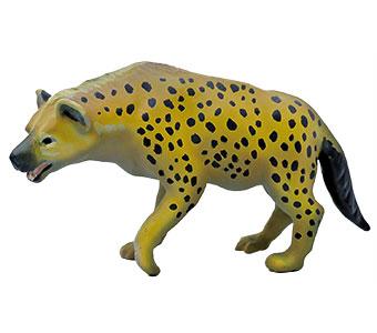 立体図鑑 動物地理区1 エチオピア区 ブチハイエナ フィギュア