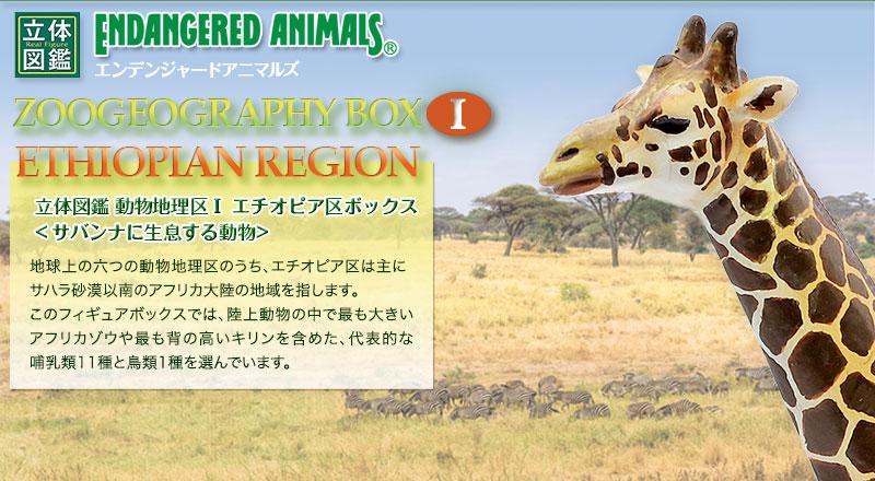 立体図鑑 動物地理区1 エチオピア区