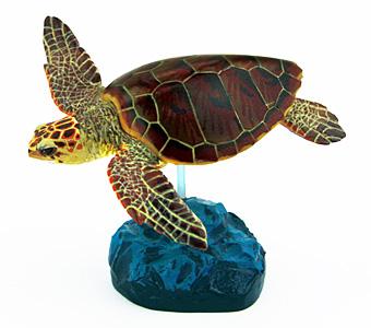 立体図鑑シータートルボックス アカウミガメ フィギュア