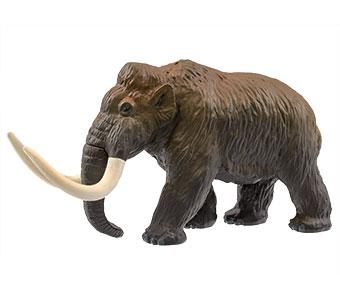 立体図鑑 新生代の絶滅動物ボックス ケナガマンモス フィギュア