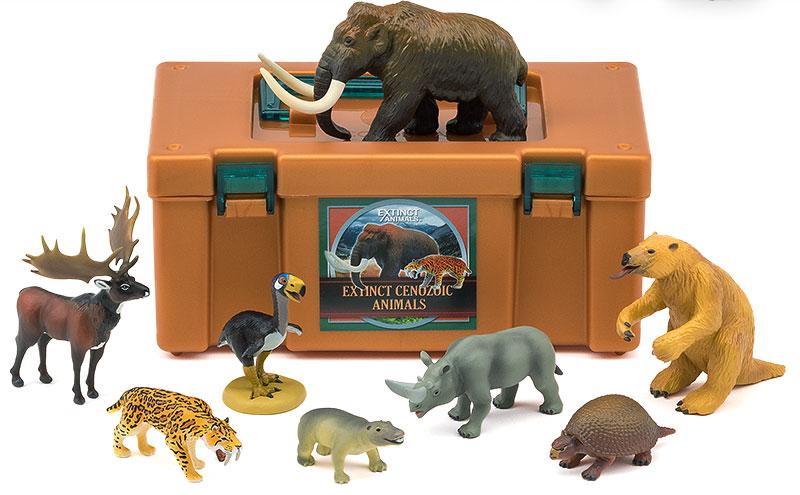 立体図鑑 新生代の絶滅動物ボックス(新生代の絶滅した動物たち)