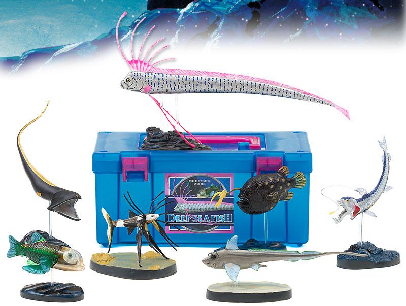 立体図鑑 ディープシーフィッシュボックス(深海生物6種類を選んだ深海魚)
