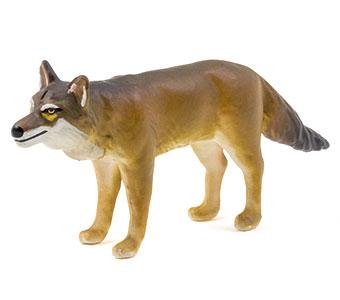 立体図鑑日本の動物ボックス ニホンオオカミ フィギュア