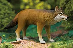 立体図鑑 日本の動物ボックス ニホンオオカミ