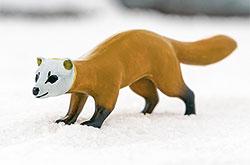 立体図鑑 日本の動物ボックス ニホンテン