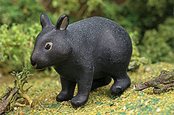 立体図鑑 日本の動物ボックス アマミノクロウサギ