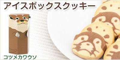 アイスボックスクッキー コツメカワウソ