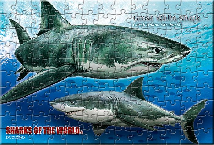 スーパーシャーク 130ピース ポストカードサイズ ミュージアム ジグソーパズル