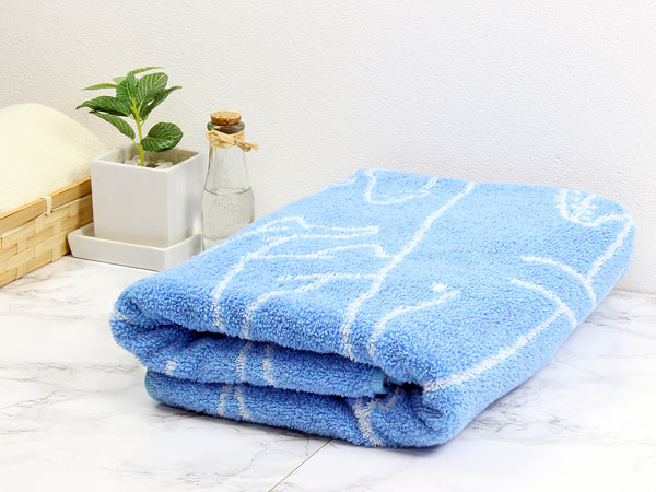 使い始めからしっかり水分吸収、洗濯後もソフトな風合いを保ちます