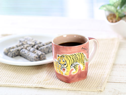 アニマル マグカップ アムールトラ(シベリアトラ)