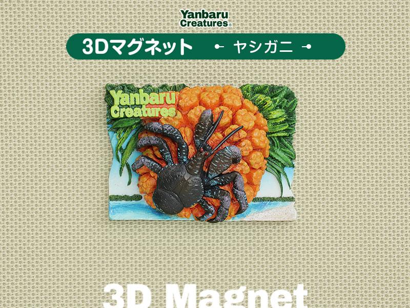 やんばるの生物 3D マグネット ヤシガニ