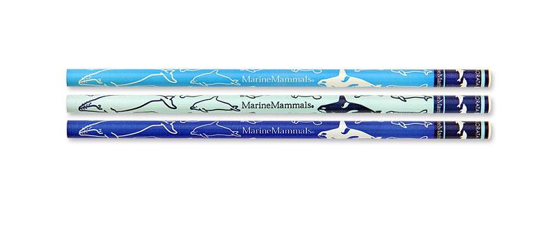 かきかた鉛筆3本セットB 海洋性哺乳類