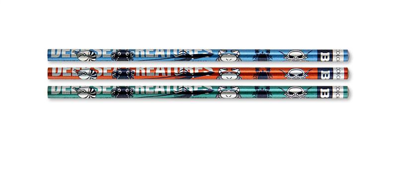 かきかた鉛筆3本セットB 深海生物
