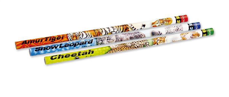 かきかた鉛筆3本セット2Bアムールトラ