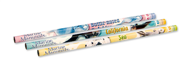 かきかた鉛筆3本セット2Bハンドウイルカ