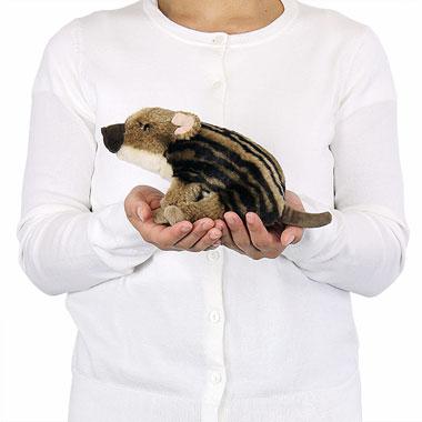 リアル動物ぬいぐるみ リアルアニマルベイビー ニホンイノシシ 大きさ