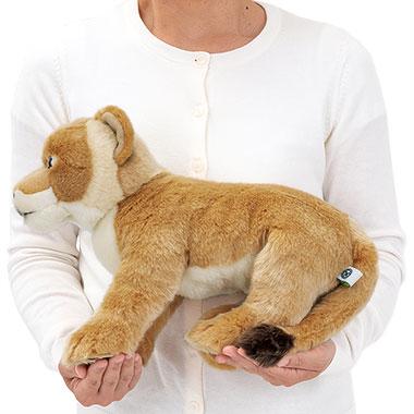 リアル 動物 生物 ぬいぐるみ リアルアニマルファミリー ライオン 親 メス 大きさ