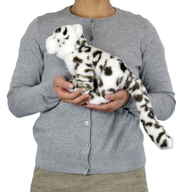 リアル 動物 生物 ぬいぐるみ リアルアニマルファミリー ユキヒョウ 子 大きさ