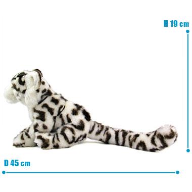 リアル 動物 生物 ぬいぐるみ リアルアニマルファミリー ユキヒョウ 子 サイズ