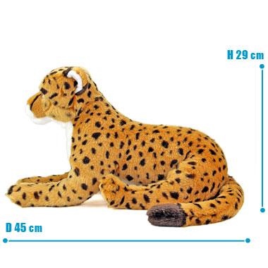リアル 動物 生物 ぬいぐるみ リアルアニマルファミリー チーター 親 サイズ