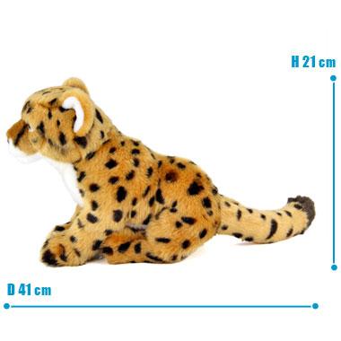 リアル 動物 生物 ぬいぐるみ リアルアニマルファミリー チーター 子 サイズ