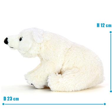 リアル 動物 生物 ぬいぐるみ リアルアニマルファミリー ホッキョクグマ 子 サイズ